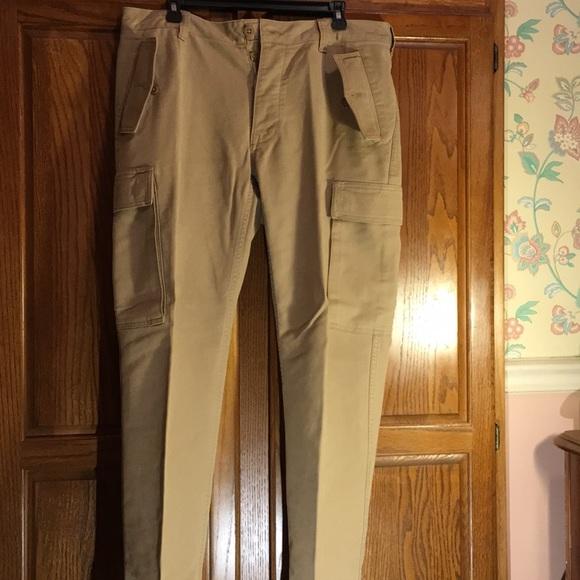 Men's Polo Cargo Pants